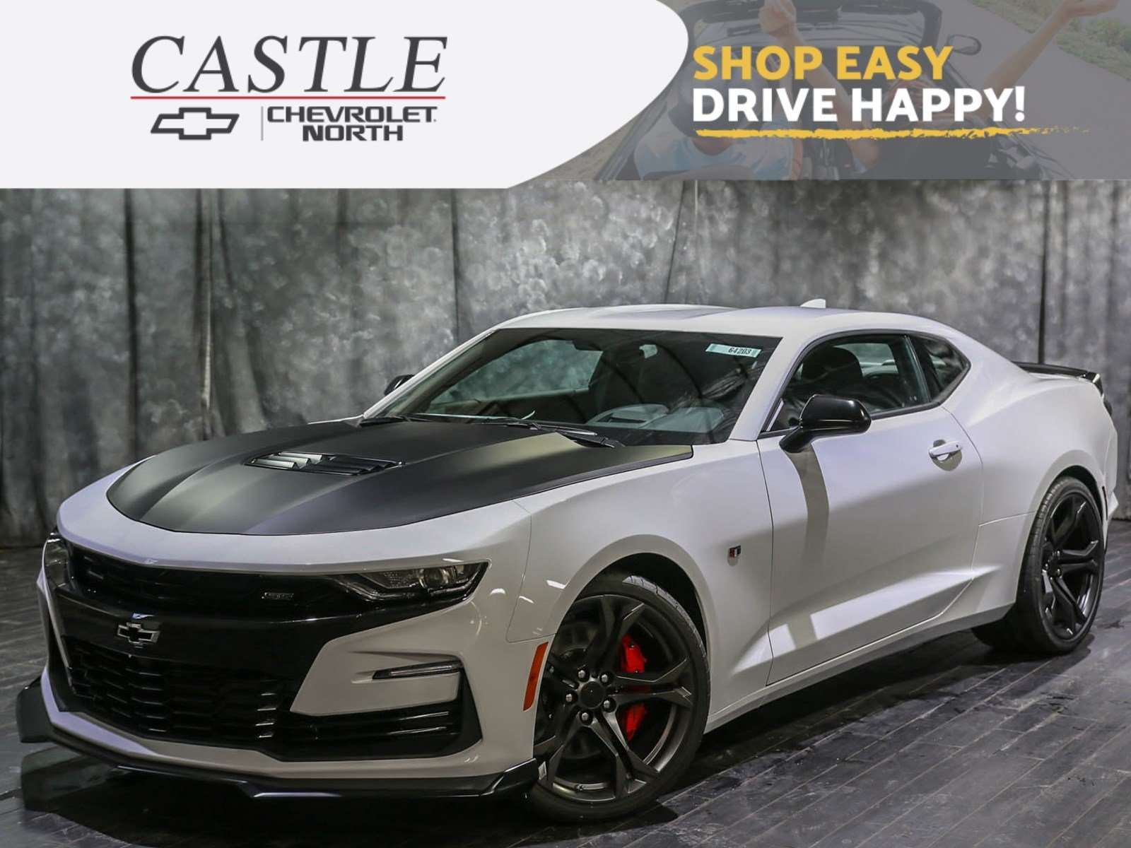 New 2019 Chevrolet Camaro 1ss 2dr Car In Villa Park 64203 Castle