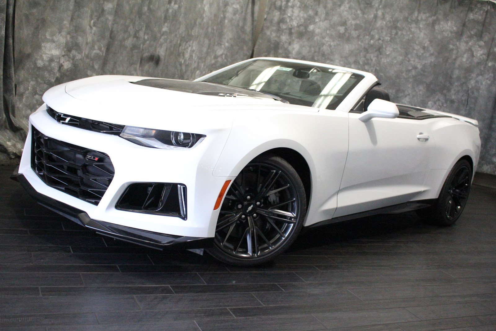 new 2018 chevrolet camaro zl1 convertible in villa park #39219