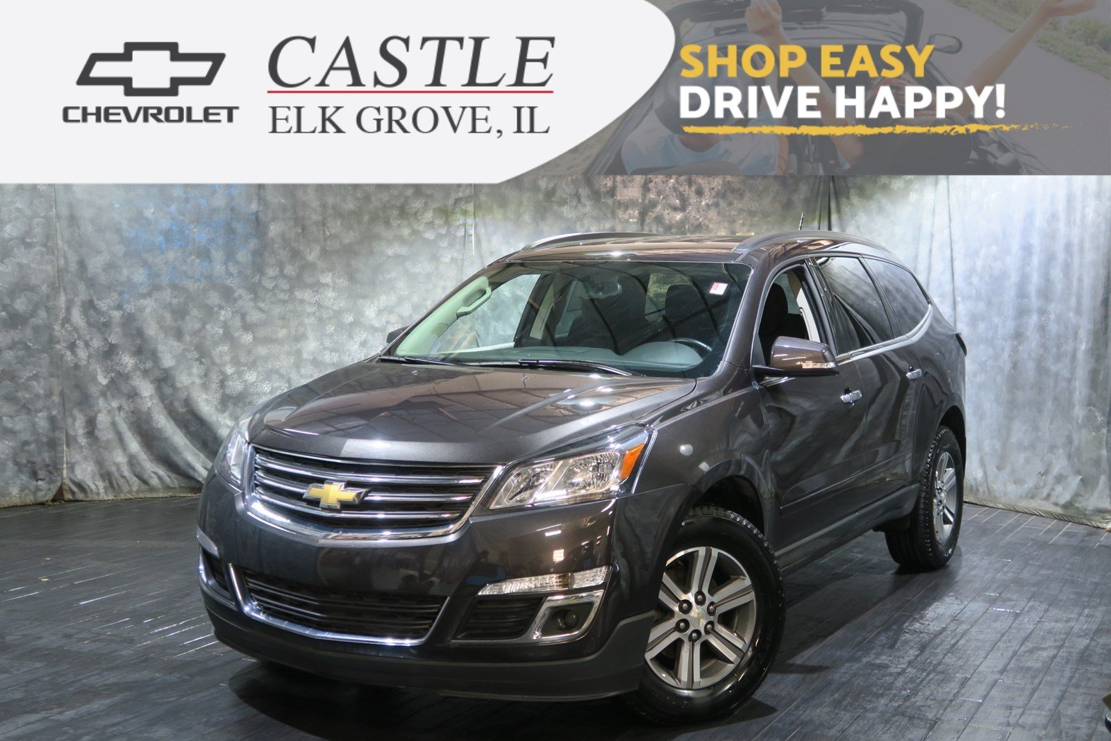 pre owned 2017 chevrolet traverse lt sport utility in villa parkpre owned 2017 chevrolet traverse lt