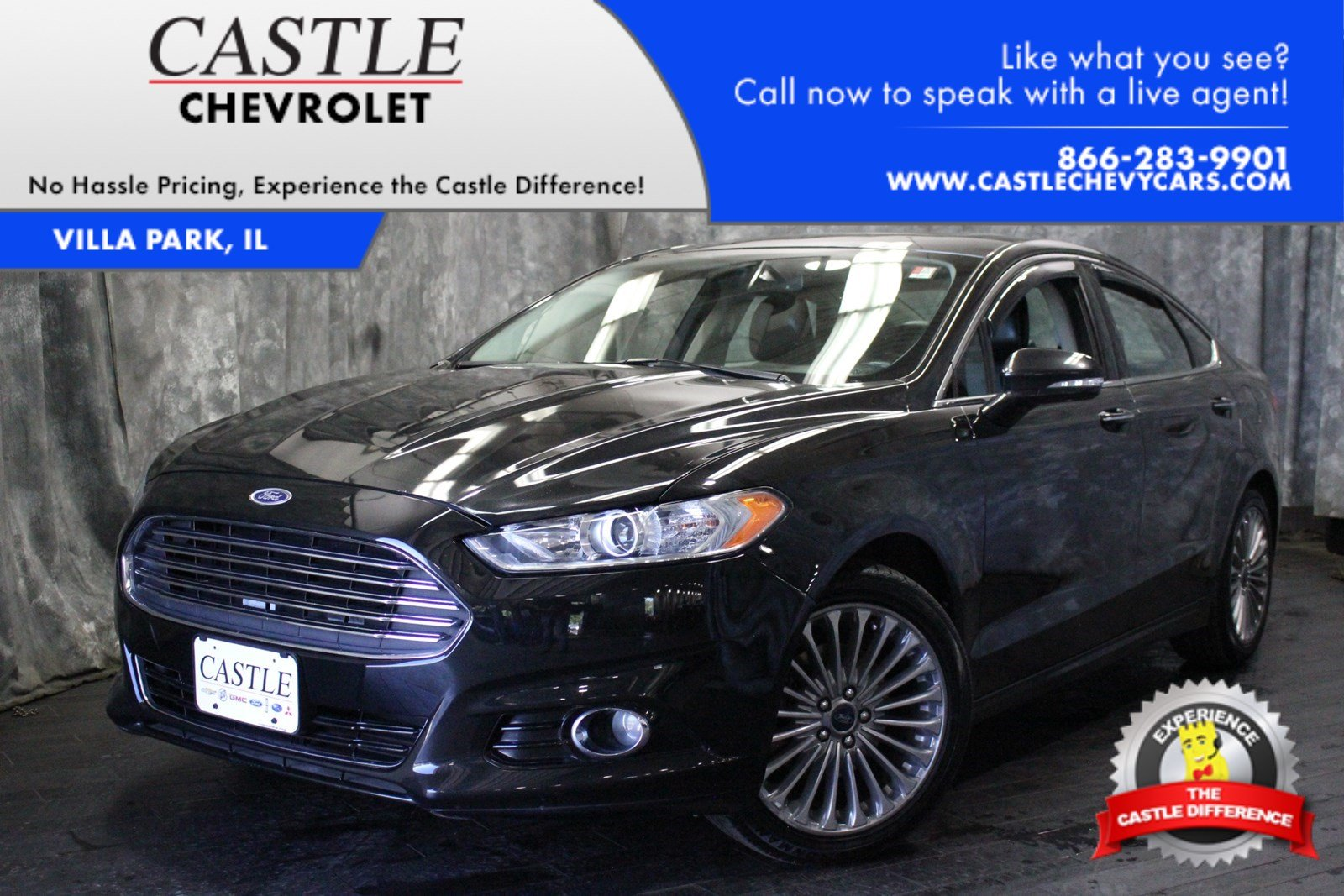 Pre owned 2013 ford fusion titanium