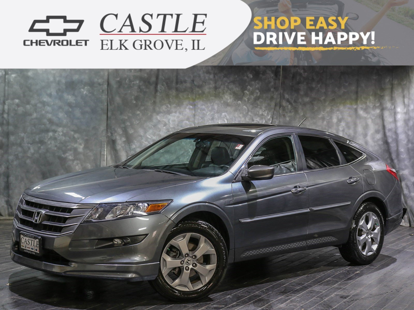 Used Honda Crosstour >> Pre Owned 2010 Honda Accord Crosstour Ex L Hatchback In Villa Park